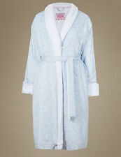 EMMA BRIDGEWATER - Marks and Spencer - True Love Roses Towelling Dressing Gown -