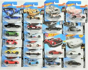 Hot Wheels NIGHTBURNERZ, HW RACE DAY, ROD SQUAD, HW ROADSTERS, TAKE YOUR PICK,