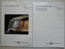 Prospekt Lancia Dedra SW., 9.1994, 24 Seiten + technische Daten / Ausstattungen