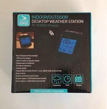 Journey's Edge Wireless RF 433MHz Indoor/Outdoor Desktop Weather Station-NIB