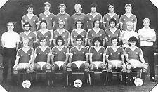 MAN UTD FOOTBALL TEAM PHOTO>1980-81 SEASON