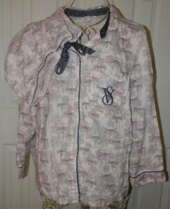 women's Victoria's Secret pink logo Pajama Set Size Small