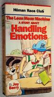 A STORY ABOUT HANDLING EMOTIONS VHS Human Race Club The Lean Mean Machine Video