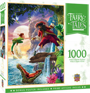 Masterpieces 1000pcs Classic Fairy Tales Peter Pan Jigsaw Puzzle