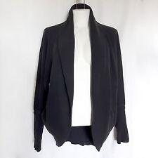 Aritzia Wilfred XS Diderot Cocoon Sweater Gray Cardigan Wrap $95 Womens