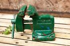 """Vintage Wilton Rotating Swivel Grip Vise 8"""" Long by 6"""" Tall with 3½"""" Jaws"""