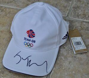 Jason Kenny Signed Adidas Team GB Tokyo 2020 Olympics Cap Cycling #2 BNWT