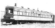 6CC129 2NDGEN NEG/PRINT 1940?s DETROIT LMT ? LINES TROLLEY #7531