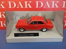 Die cast 1/43 Modellino Auto Ford Escort MKI Rossa by Cararama