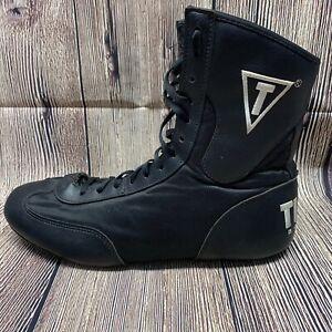 Title Boxing Speed Flex Encore Mid Length Boxing Shoes Size 11 Black