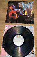 David Bowie LET'S DANCE 1983 EMI Vinyl LP. UK 1st PRESS. AML3029 A2/B1. NM/EX