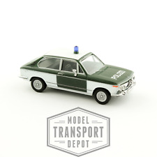 Herpa 047210 BMW 2002 1802 Touring Tii Polizei Miniature Scale Model Car 1 87 HO