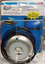 Aqua Signal LED Underwater Multipurpose Deck Light White, Blue, Green, Red