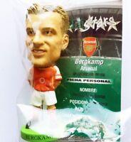 BERGKAMP Arsenal Home Corinthian Prostars Fans Favourites Figure in Sachet FF158