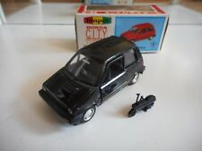 Yonezawa Toys Diapet Honda City + Moped in Black on 1:40 in Box