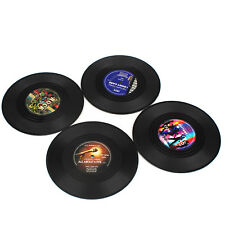 Protect Your Furniture Fits Any Cups Set of 4 Drink Coasters Music Theme Gift-US