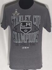 Los Angeles LA Kings 2014 Stanley Cup Champions NHL Hockey Team Medium M T-shirt