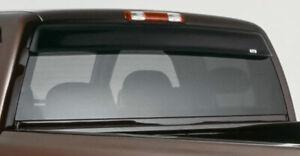 Fits 99-06 Silverado Sierra GTS Shadeblade Acrylic Rear Window Deflector 57540