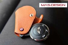 Leather Case for 2007-2013 MINI Cooper S /Clubman/ Countryman in Orange Color