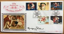 27.10.1997 Christmas Crackers-Signed GEOFFREY PALMER-As Time Goes By-Benham FDC