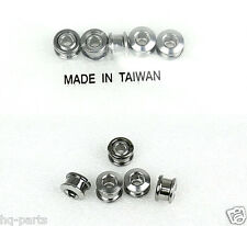 NEW BICYCLE BIKE STEEL 6.5mm SINGLE CHAIN RING CRANK NUTS BOLTS SCREW 5 SETS SL