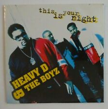 HEAVY D & THE BOYZ : THIS IS YOUR NIGHT ♦ CD Single NEUF / NEW ♦