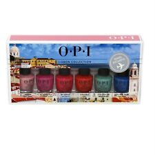 Opi Lisbon Collection Mini 6 Piece Set 6x3.75 Ml/6x0.125 Fl.Oz. Nib