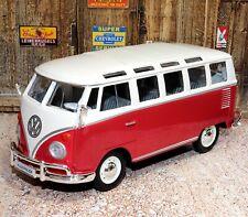 Volkswagen Van Samba 1:24 Scale Die-cast Metal Model Toy Car Maisto 3+