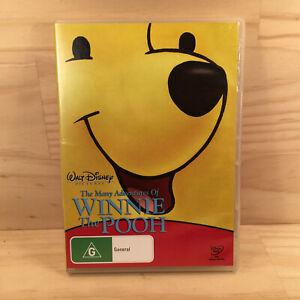Walt Disney MANY ADVENTURES OF WINNIE THE POOH Kids Animated DVD Movie Film (R4)