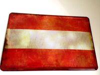 Austria Bandera Bandera Letrero Letrero de Metal Cartel de Lata 20 X 30Cm