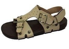 Sandales beige avec attache auto-agrippant pour garçon de 2 à 16 ans