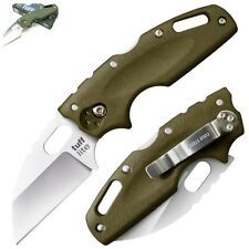 "Cold Steel Tuff Lite Knife 2½"" AUS8A S. Steel Blade & OD Green Griv-Ex Handle"