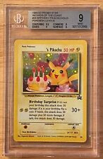Pokemone Birthday Pikachu  BGS 9