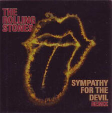 ☆ CD Single The ROLLING STONES Sympathy for the devil REMIX 4-TRACK CARD SLEEVE☆