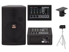 Proel Freepass6 Impianto Audio completo 150watt Cassa Amplificata attiva Mixer