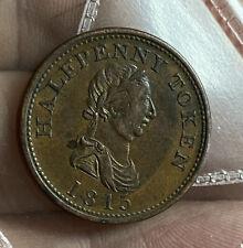 1815 Canada 1/2 Penny Token GEF