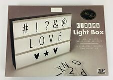 Cinema Light Box - Light Up Message Box - 85 Symbols