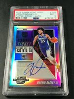MARVIN BAGLEY 2018 PANINI CONTENDERS OPTIC #110 AUTO ROOKIE RC PSA 9 KINGS NBA