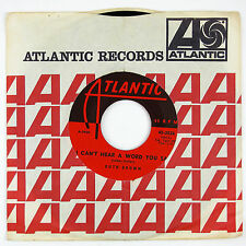 RUTH BROWN I Can't Hear A Word You Say/Jack O'Diamonds 7IN 1959 R&B/SOUL NM-