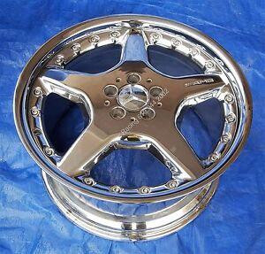 Mercedes AMG CL500 S600 430 S55 19x9.5 NEW Chrome BBS Rear Wheel Rim A2154000102