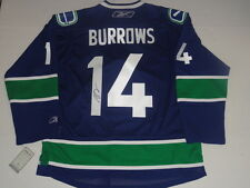 ALEXANDRE BURROWS SIGNED REEBOK PREMIER VANCOUVER CANUCKS HOME JERSEY 855662f0f