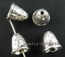 100pcs Tibetan Silver Cap Shaped Bead Caps 10.5x9.5mm 11858