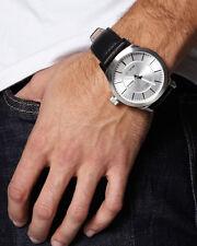 Authentic Men's Billabong Apex Brown Leather Automatic Watch. NIB, RRP $349.95