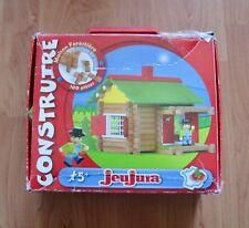 Jeu de construction bois Maison Forestière 100 pièces, JeuJura