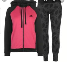 Adidas WTS Hoody & Tight Tracksuit Women's  Pink(magrea/black