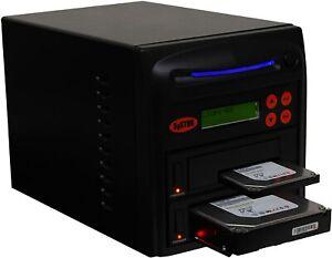 "SySTOR 1:1 SATA 3.5"" 2.5"" Hard Disk Drive HDD/SSD Duplicator Sanitizer -600MB/s"