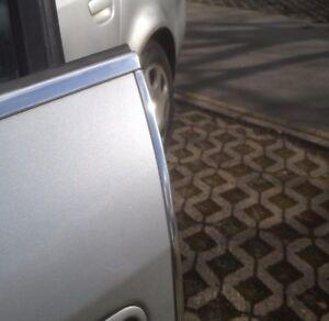 Chrom Türkantenschutz Kanten Schutz mit 3M Kleber 2 Stück x 100Cm Opel Frontera