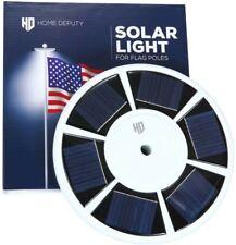 New listing Super Bright Solar Light for Flag Pole -111 Led-15-25ft in-ground 0.5� diameter