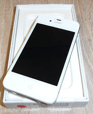 Apple Iphone 4S 16GB White Weiss Smartphone Defekt #189#