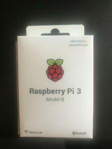 **NEW** Raspberry Pi 3 Model B Quad Core 1.2GHz 64-Bit CPU 1GB RAM - BNIB